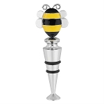 Bee Zinc Bottle Stopper