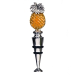 Pineapple Zinc Bottle Stopper