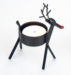 Red-nosed Reindeer Tealight Holder