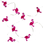 Mini Pink Flamingos Fairy Lights (30) - Battery Operated