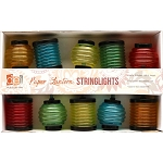 Multi-colored Chinese Lantern String Lights