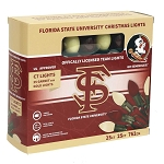 Florida State University C7 Colored Bulb String Lights