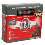 Ohio State University C7 Colored Bulb String Lights