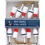 Lobster & Crab Buoy String Lights