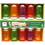 Multi-Color Mason Jar String Lights