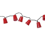 Red Party Solo Cup String Lights