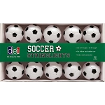 Black & White Soccer Ball String Lights