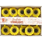 Cheerful Sunflower String Lights