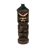 Full Body Resin Tiki God Tiki-Torch (style varies)