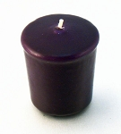 Purple 15 hr Unscented Votive Candle