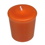 Sienna Votive Candle - 15 hr, Unscented, Flared