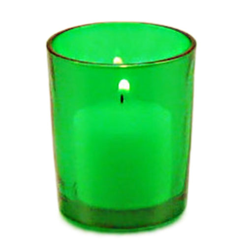 Green Votive Candle Holder Adult Party Decorations