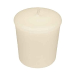 Ivory Votive Candle - 15 hr, Unscented, Flared
