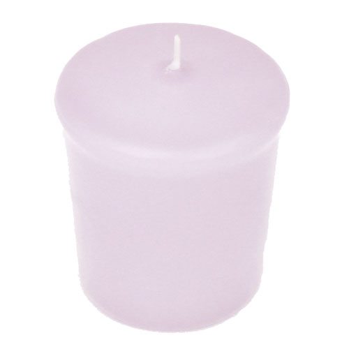 Lavender Purple 15 hr Unscented Votive Candle
