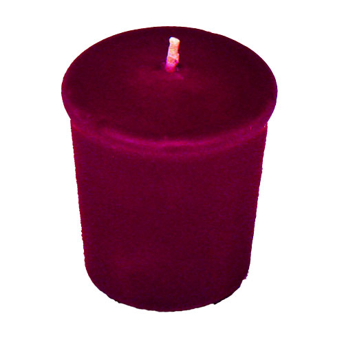 Magenta Purple Votive Candle - 15 hr, Unscented, Flared