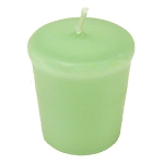Sage Green Votive Candle - 15 hr, Unscented, Flared