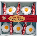 Bacon & Eggs String Lights