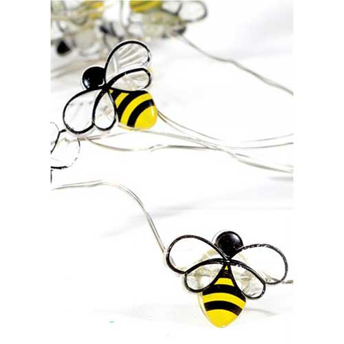 Mini Honey Bees Fairy Lights (30) - Battery Operated