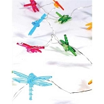 Mini Dragonfly Fairy Lights (30) - Battery Operated
