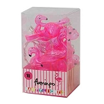 Pink Flamingo Battery-Operated String Lights