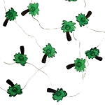 Mini Palm Trees Fairy Lights (30) - Battery Operated