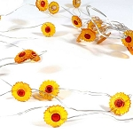 Mini Sunflowers Fairy Lights (30) - Battery Operated