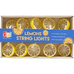 Yellow Lemon Slices String Lights