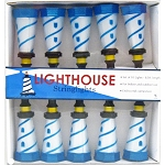 Nautical Striped Lighthouse String Lights