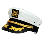 Yacht Captain's Cap With Golden Oak Leaf (Scrambled Eggs)