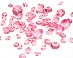 Large Diamonds, Assorted Sizes - Hot Pink ** DISCONTINUED **