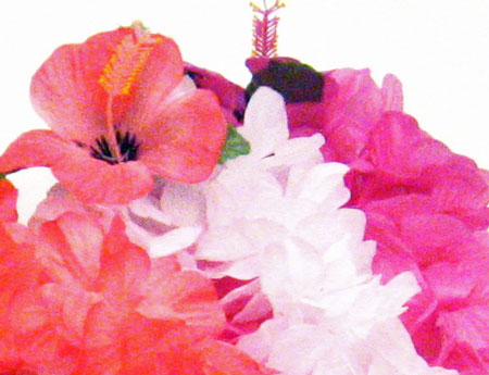 Childrens premium hawaiian silk flower leis luau party supplies quick view mightylinksfo