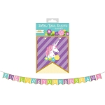 8-Foot Unicorn FOLLOW YOUR DREAMS Mini Flag Banner