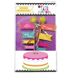 LET'S EAT CAKE Mini Paper Cake Topper Bunting **CLEARANCE**