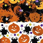 Halloween Metallic Confetti Mix - 2.5 oz **CLEARANCE**
