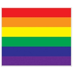 6-Foot Rainbow Gay Pride Flag Wall Mural