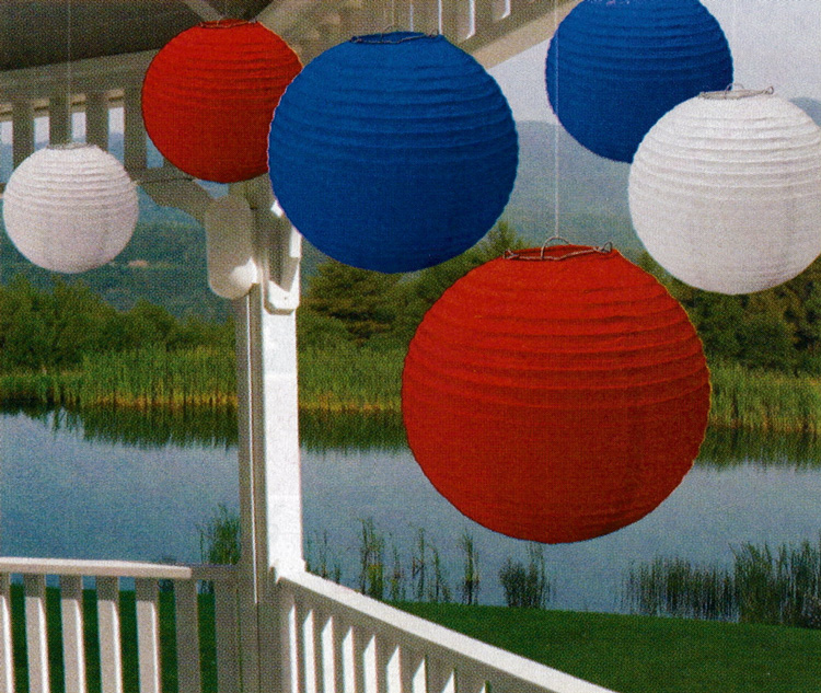Patriotic Themed Memorial Day Decorations