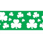 Shamrocks & Clovers St Patrick's  Day Party Tape