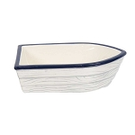 Ceramic Nautical Serving Boat - 2 sizes