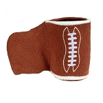 Knitted Football Cozy Drink Holder & Mitt
