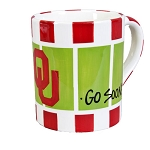 Extra Large 24 oz. University of Oklahoma Ceramic Stadium Mug