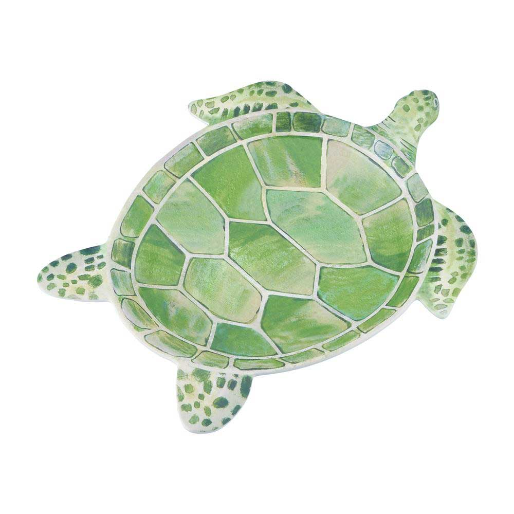 Sea Turtle Shaped Melamine Serving Dish Under The Sea Amp Ocean Beach Themed Party Supplies