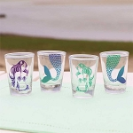 Mermaid Shot Glasses - Set of 4