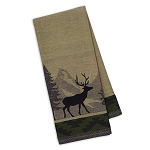 Mountain Lodge Wildlife Jacquard Dish Towel - 3 styles