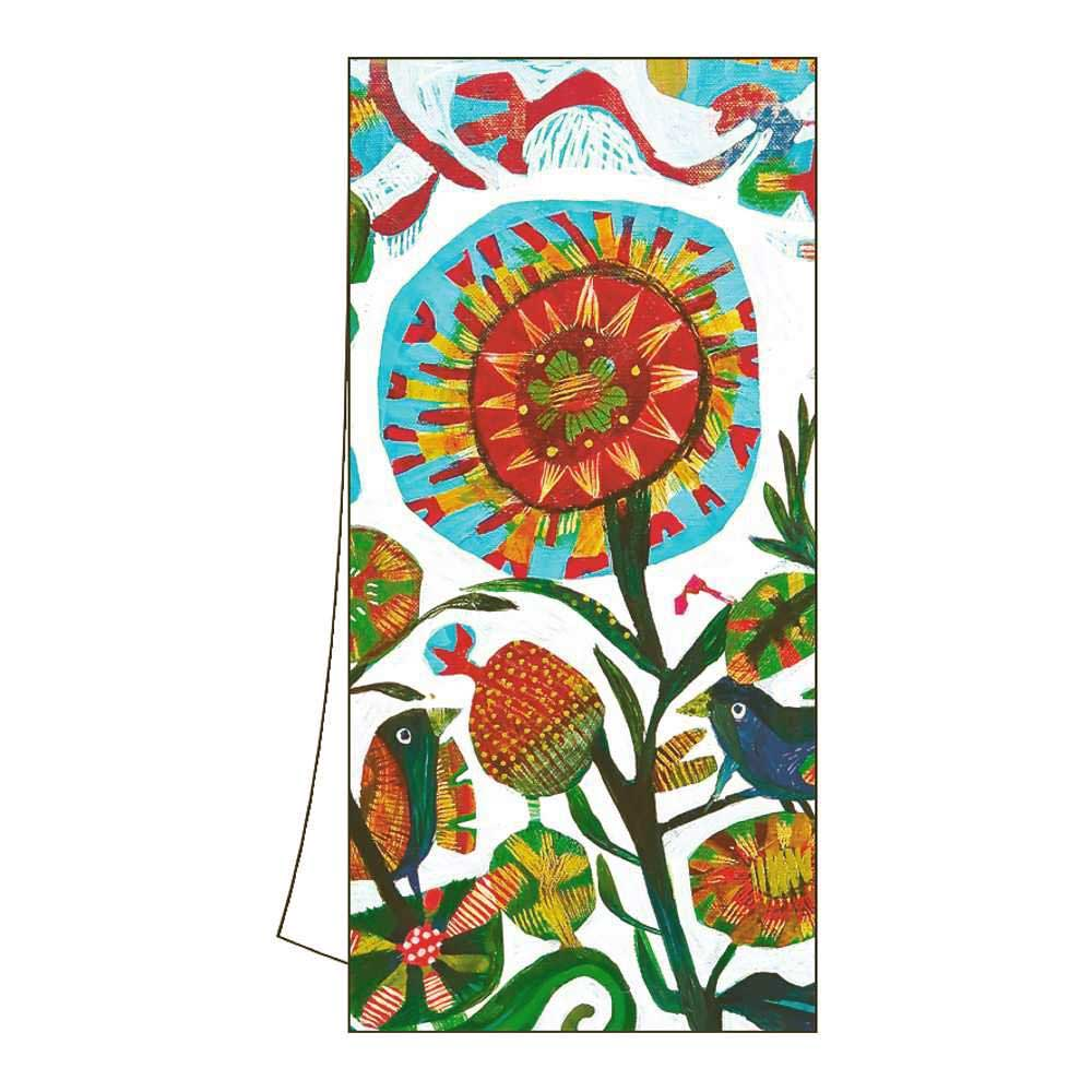 Abstract Garden 100% Cotton Kitchen or Bar Towel