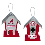 University of Alabama Crimson Tide Birdhouse Centerpiece