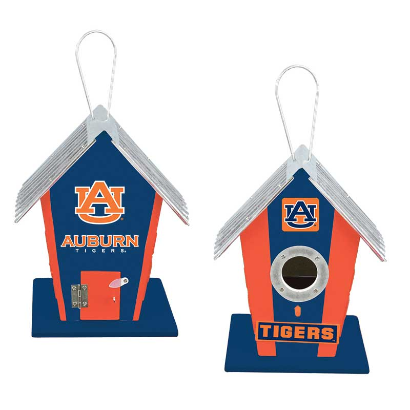 Auburn University Tigers Birdhouse Centerpiece