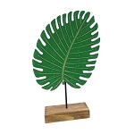 Tropical Banana Fan Leaf on Base Centerpiece - 3 sizes