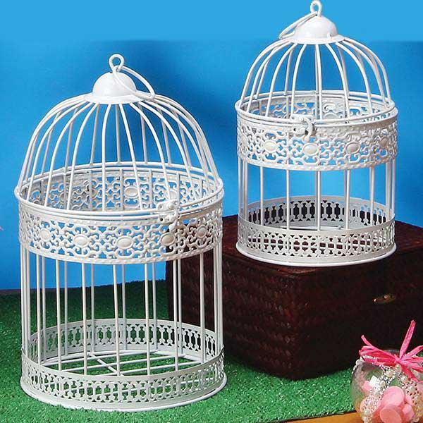 Decorative Metal Bird Cage.Decorative White Metal Bird Cages World Travel Theme Spring Garden Party Decorations