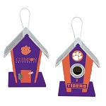 Clemson University Tigers Birdhouse or Centerpiece