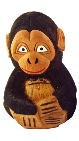 Coconut Monkey Bank
